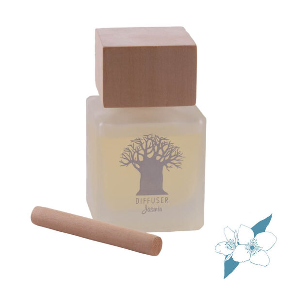 Wooden Top Diffuser Jasmin