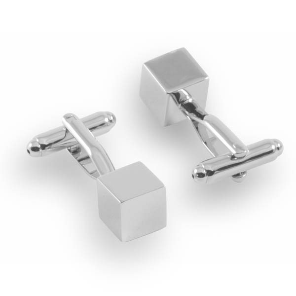 small square cufflinks